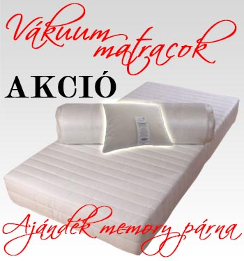 Vákuum matracok